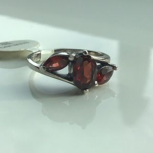 ❤️Beautiful Garnets In Solid Sterling Silver❤️
